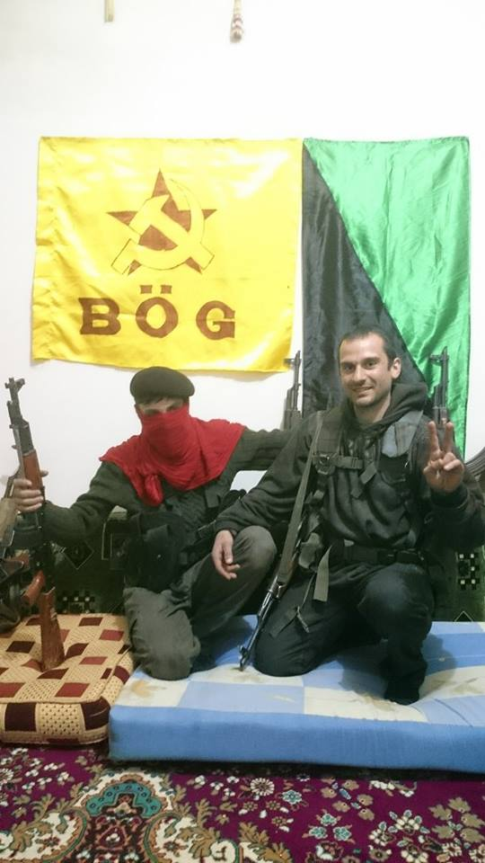 (Anarquistas e comunistas somando forças para uma frente internacionalista em Rojava)